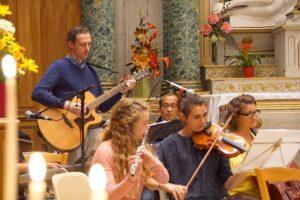 Musique au sein d'une église