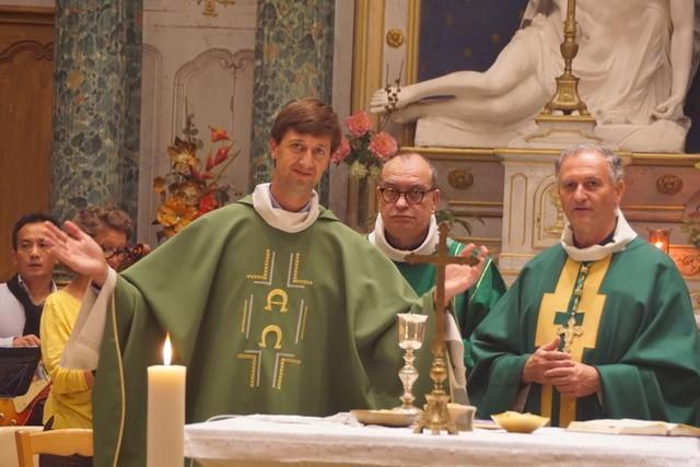 Messe avec 3 prêtres